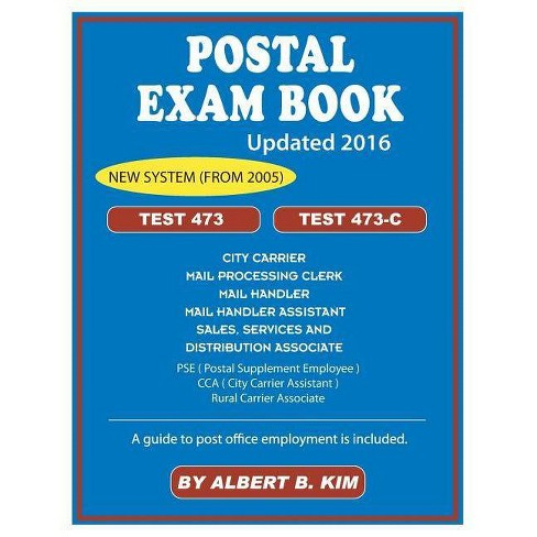 Postal Exam Book - by  Albert Kim (Paperback) - image 1 of 1