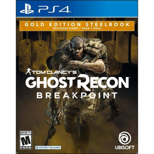 Tom Clancy's Ghost Recon: Breakpoint Gold Edition Steel Book - PlayStation 4