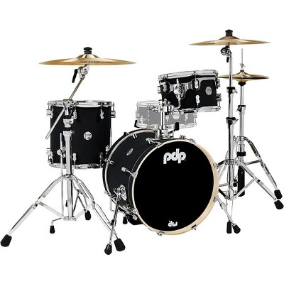 PDP by DW Concept Maple 3-Piece Bop Shell Pack Satin Black