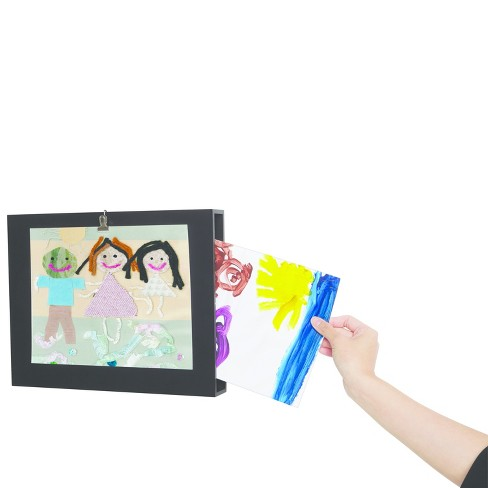 Loft by Umbra Kids Art Display with Clip - Black - image 1 of 5