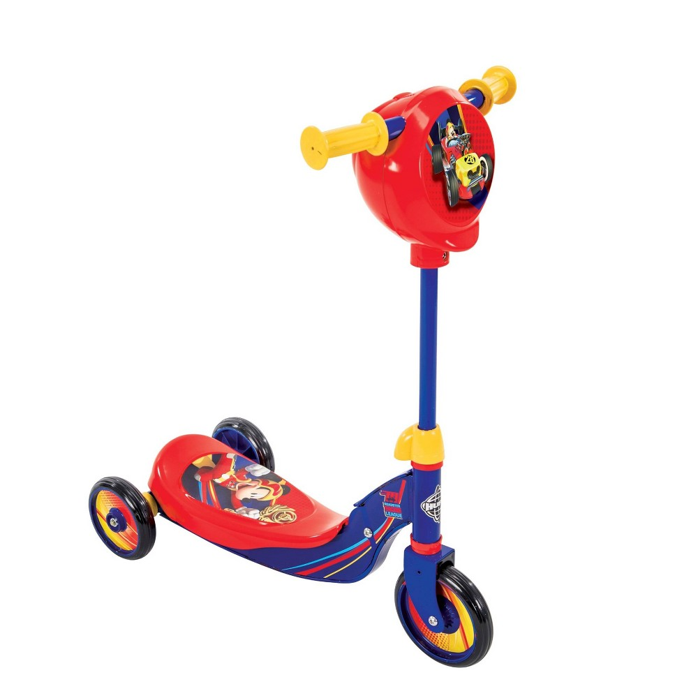Huffy Mickey Mouse Secret Storage Scooter, Red