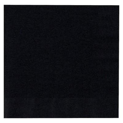 50ct Black Lunch Napkin