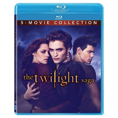 Twilight Forever: The Twilight Saga 5-Movie Collection (Blu-ray)