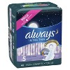Always Ultra Thin Extra Heavy Overnight Pads - Size 5 - 46ct - image 4 of 4