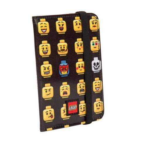 LEGO Minifigure Emoji Accessory Bag - Black/Yellow - image 1 of 3