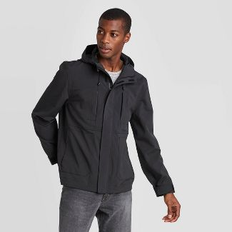 Men's Elevated Softshell Jacket - Goodfellow & Co™ Black S
