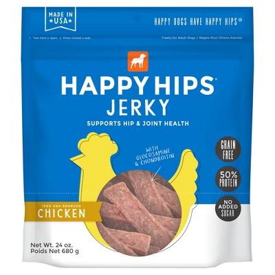 Happy Hips Jerky Grain-Free Chicken Dog Treats