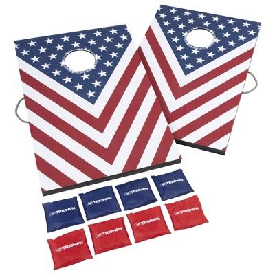 Triumph Sports LED 2'x3' Stars/Stripes Pattern Bag Toss