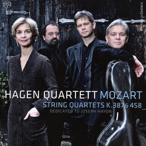 Hagen quartett - Mozart:String qts k 387 & k 458 (CD) - image 1 of 1