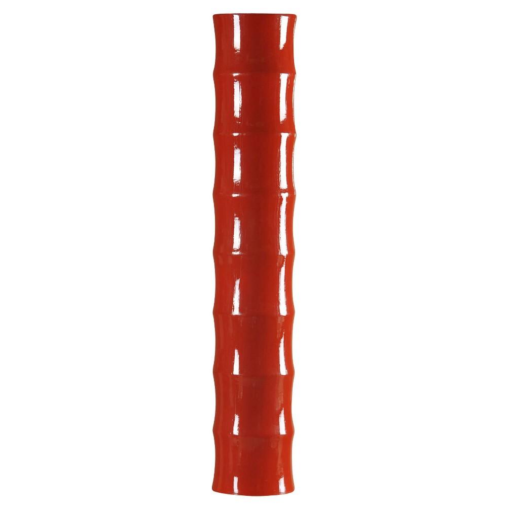 Decorative Vase Glossy - Red, Spiced Apple Orange