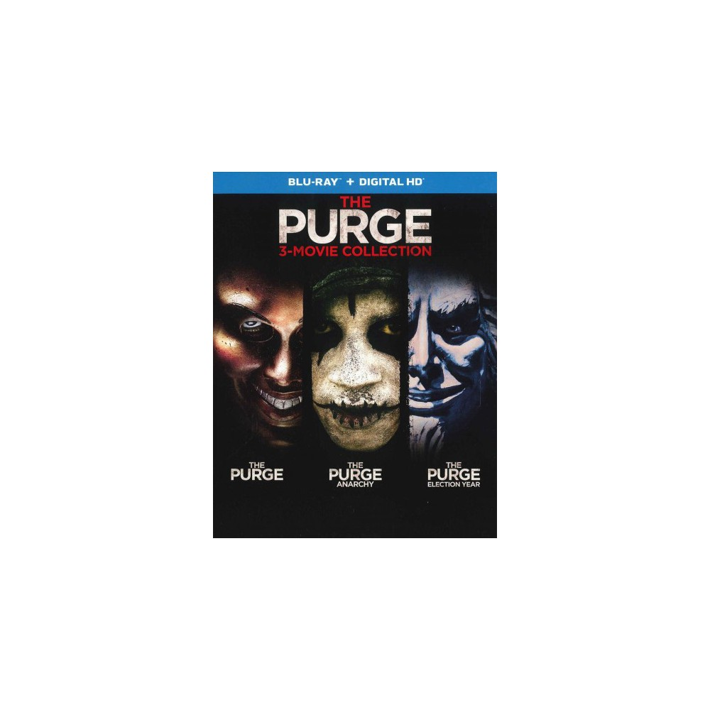 Purge:3 Movie Collection (Blu-ray)