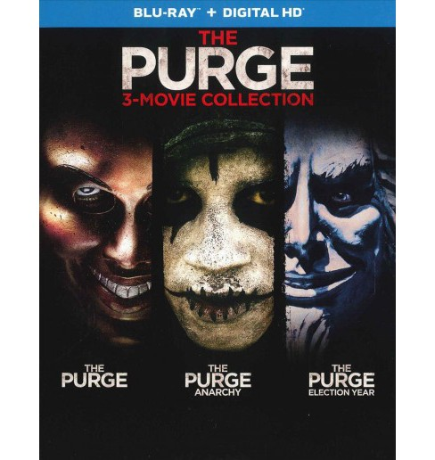 Purge:3 Movie Collection (Blu-ray) - image 1 of 1
