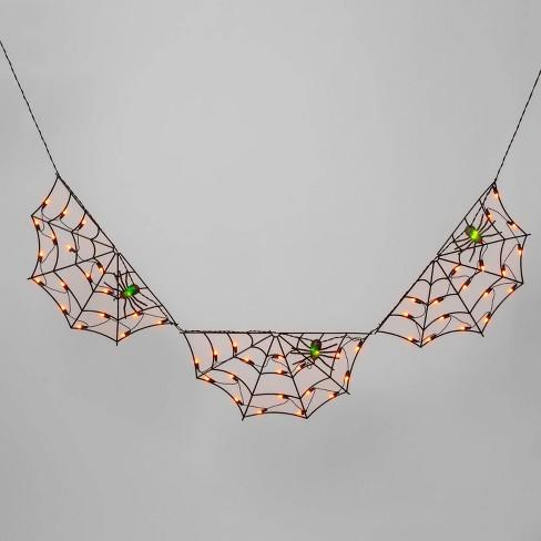 3ct Spider Web Incandescent 60-Light Halloween Novelty String Lights - Hyde & EEK! Boutique™ - image 1 of 3