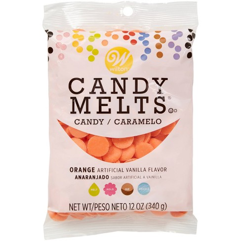Wilton 12oz Candy Melts - Orange - image 1 of 3