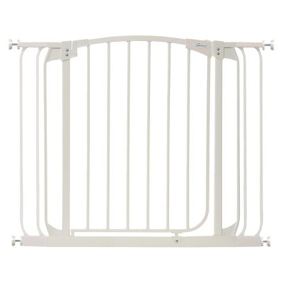 Chelsea Xtra Wide Swing Close Gate - White -Dreambaby