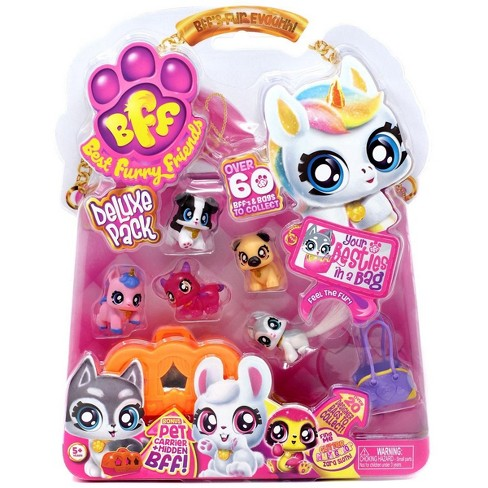 BFF Best Furry Friends Deluxe Pack Red Jelly DeeDee Mini Figure 6-Pack - image 1 of 1