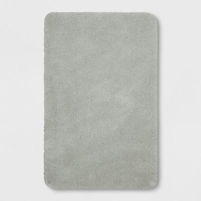 Performance Nylon Bath Rug Classic Gray (23 x37 )- Threshold™