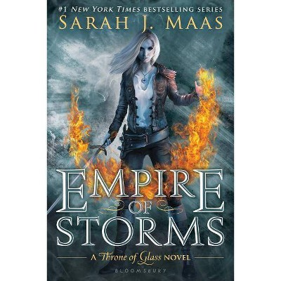 Empire of Storms - (Throne of Glass) by  Sarah J Maas (Paperback)