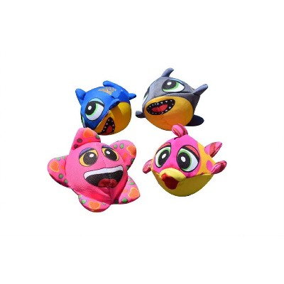 "Swimline 5"" Fish Splasher Bombs Swimming Pool Toys 4pc - Pink/Yellow"