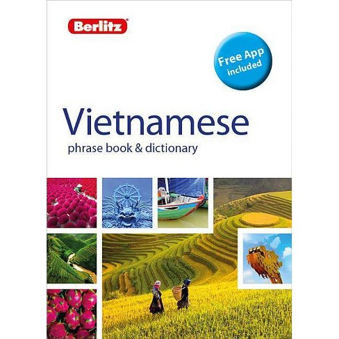 Berlitz Phrase Book & Dictionary Vietnamese(bilingual Dictionary) - (Berlitz Phrasebooks) 2(Paperback) - image 1 of 1