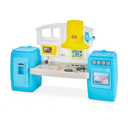 Little Tikes Tasty Jr. Bake \'n Share Kitchen Role Play Kitchen and Activity  Set