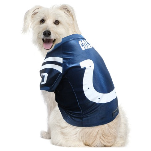 Indianapolis Colts Little Earth Pet Premium Football Jersey - Navy M    Target 3306ab8b2