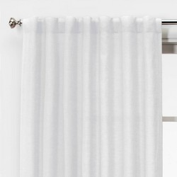 Linen Light Filtering Curtain Panels - Threshold™