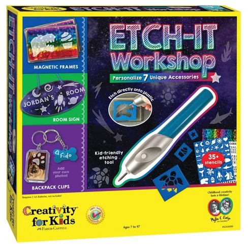 Creativity for Kids Etch-It Workshop - image 1 of 4