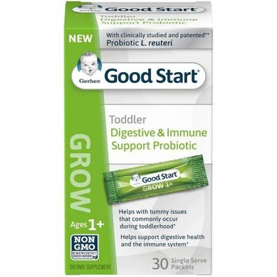 Gerber Good Start Grow Probiotic Sticks - 30ct