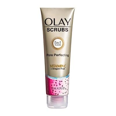 Olay Scrubs Pore Perfecting - Vitamin C + Dragon Fruit - 4.2 fl oz