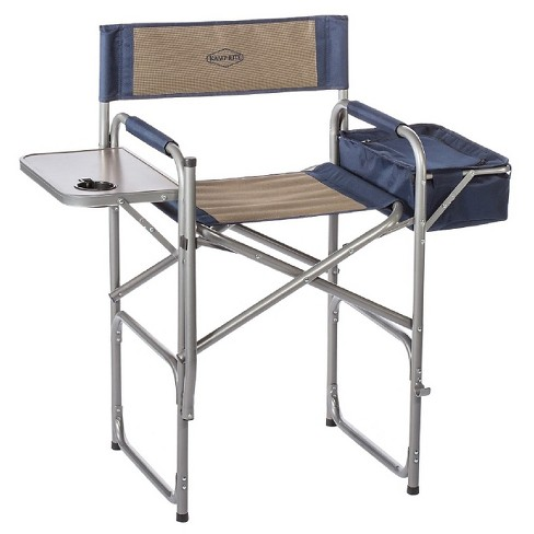 Kamp Rite The High Back Director S Chair With Side Table And Cooler