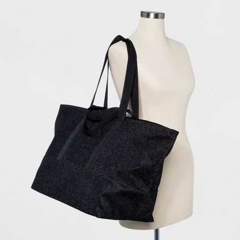Lurex Tote Handbag - Wild Fable™ Black   Target a5f3f0752933b