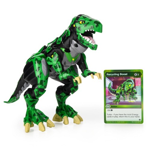 Bakugan Exclusive Deluxe Figure and Card - Trox - image 1 of 4