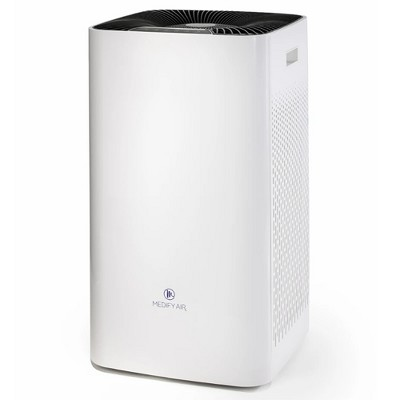 Medify Air MA-112 V2.0 Portable Large 5,000 Sq Ft Room Home Air Purifier w/ Medical Grade True H13 HEPA Filter Removes Pollen, Dust & Allergens, White