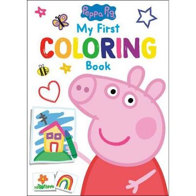 Peppa Pig: My First Coloring Book (peppa Pig) - (paperback) : Target