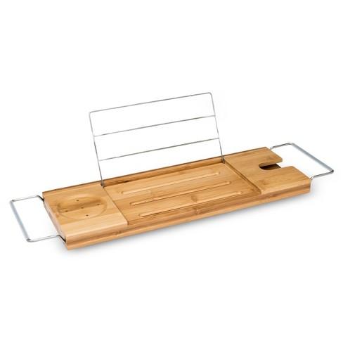 Bamboo Bathtub Caddy Natural - Threshold™ : Target