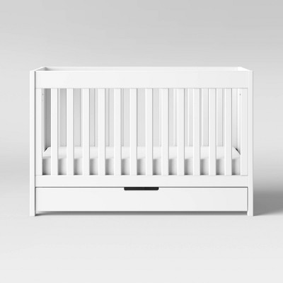 Babyletto Mercer 3-in-1 Convertible Crib with Toddler Rail - White