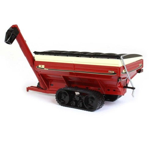 Killbros 1111 Grain Cart on Tracks Red 1/64 Diecast Model by SpecCast - image 1 of 4