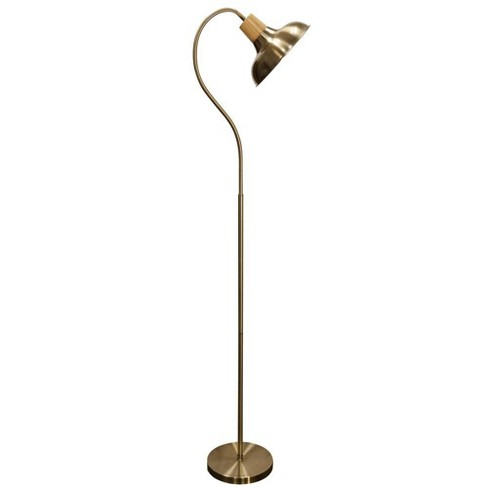 Floor Lamp Gold (Includes Light Bulb) - StyleCraft - image 1 of 3