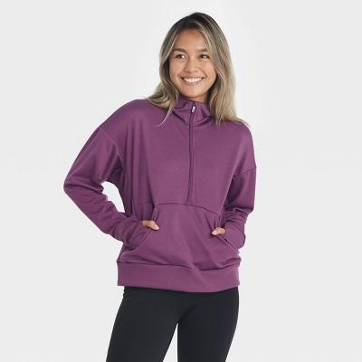 Women's Ponte 1/2 Zip Sweatshirt - All in Motion™