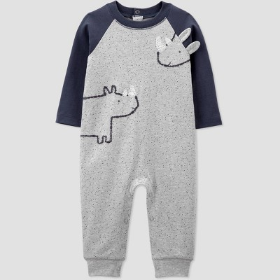 Baby Boys' Rhino Speckled Jumpsuit - Just One You® made by carter's 12M