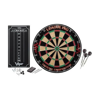 Viper League Pro Sisal Dartboard Starter Kit