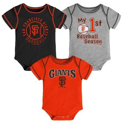 MLB San Francisco Giants Boys' Bodysuit - 12M