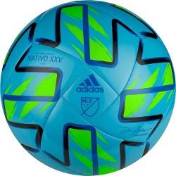 Adidas MLS Glider Soccer Ball - Cyan/Blue