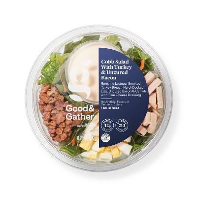 Cobb Salad with Turkey & Uncured Bacon Bowl - 6.25oz - Good & Gather™