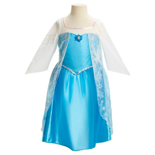 Disney Princess Elsa Dress, Size: Small, MultiColored image number null