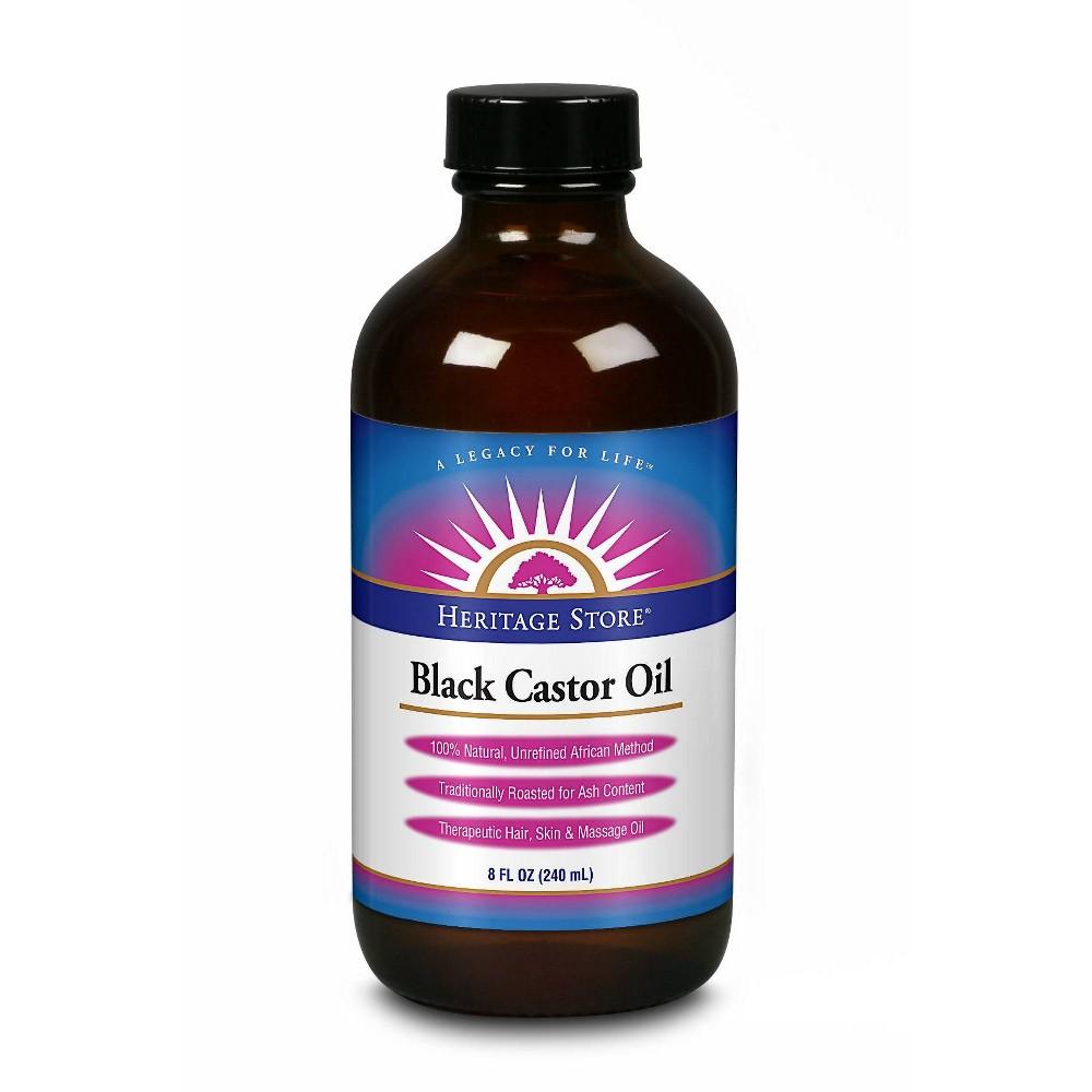 Image of Heritage Store Black Castor Oil - 8 fl oz