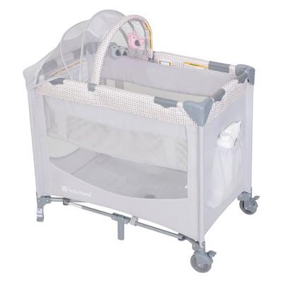 Baby Trend Mini Nursery Center Playard - Daisy Drop