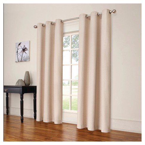 """Windsor Blackout Curtain Panel Cream (42""""x95"""") - Eclipse™ - image 1 of 3"""