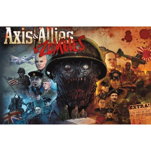 Axis & Allies - Zombies Board Game - image 1 of 2